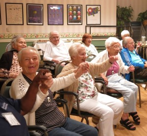 What is the Senior Music Network?